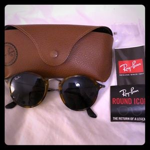 Round Ray ban sunglasses